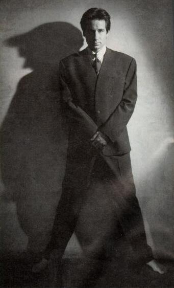 David Duchovny; Actual size=180 pixels wide